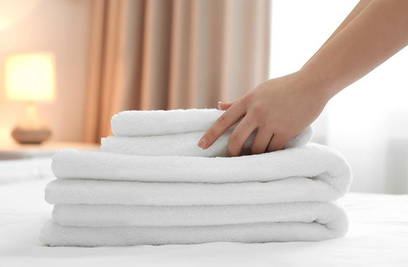 Wäsche Hotellerie
