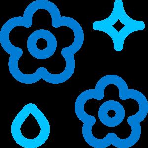 Symbol sanftes Waschen