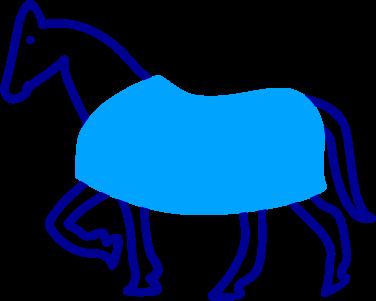 Symbol Pferdedecke